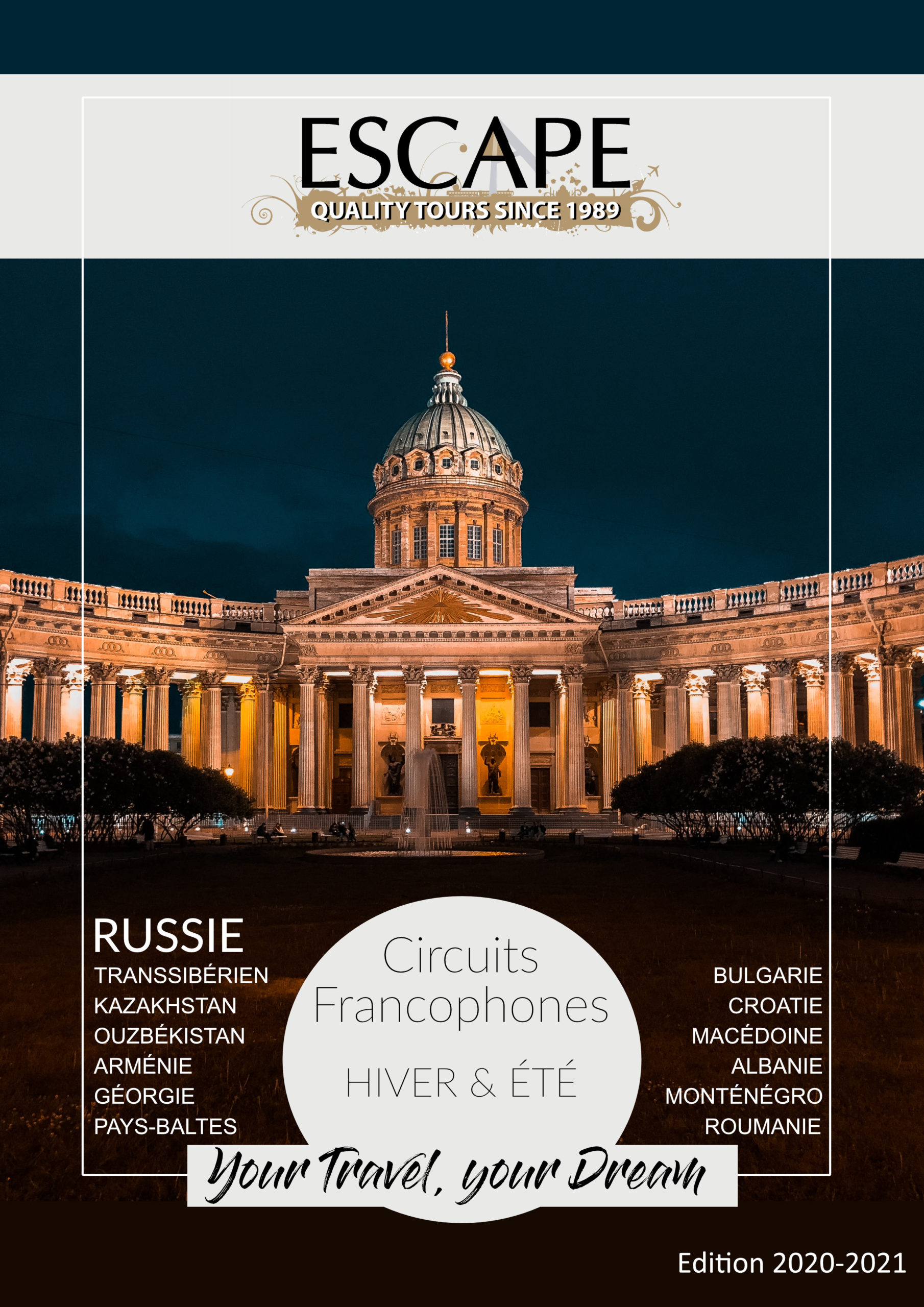 Escape - CoverPage Europe-Russie 2019-2020