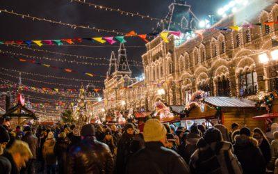 RÉVEILLON MOSCOU ST. PÉTERSBOURG  7 jours / 6 nuits