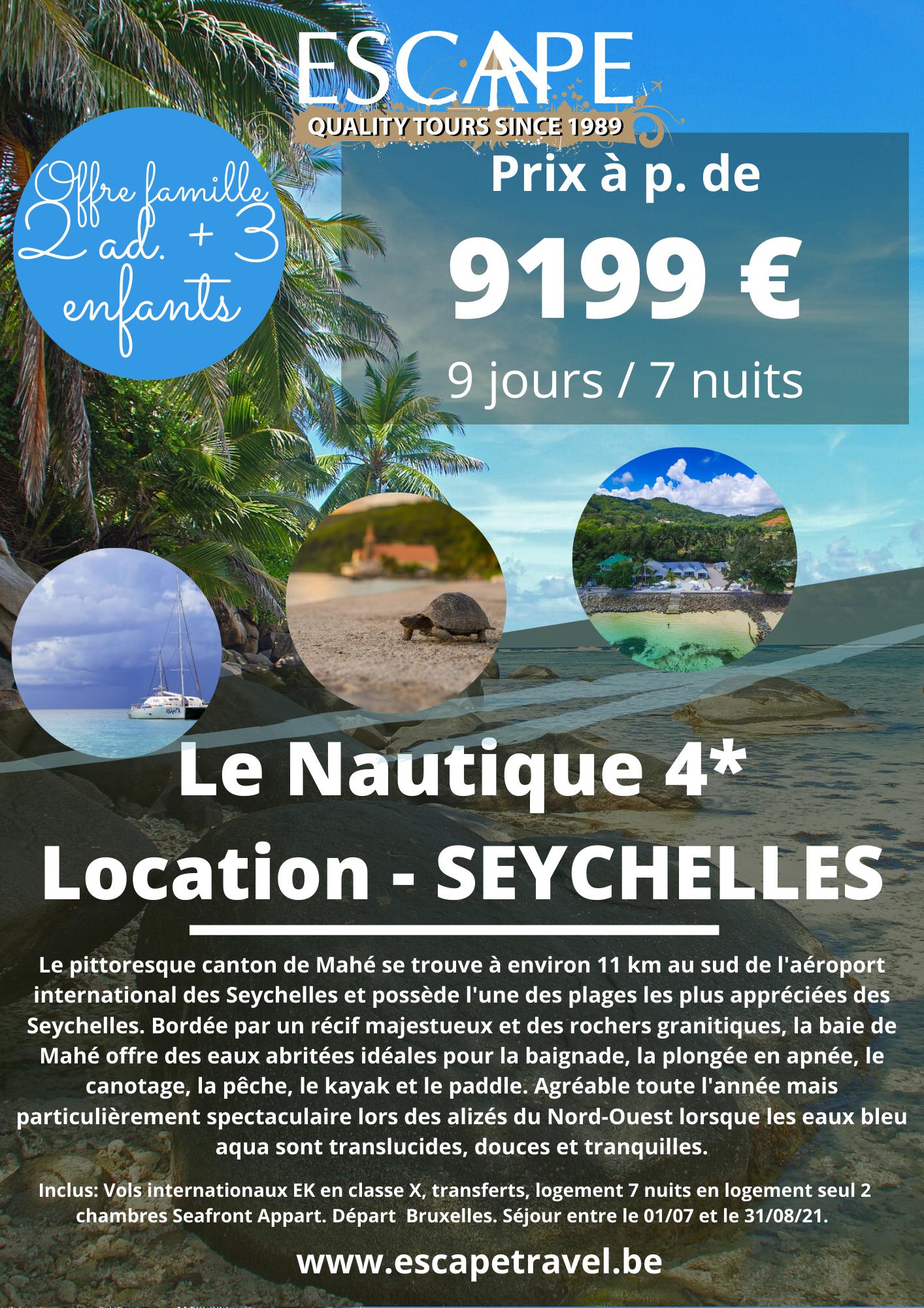 Le Nautique - Seychelles