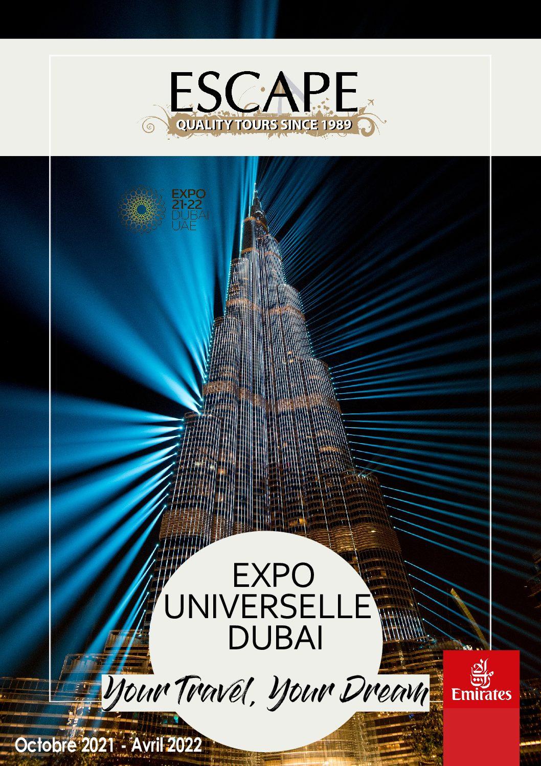 Cover Moyen-Orient Escape